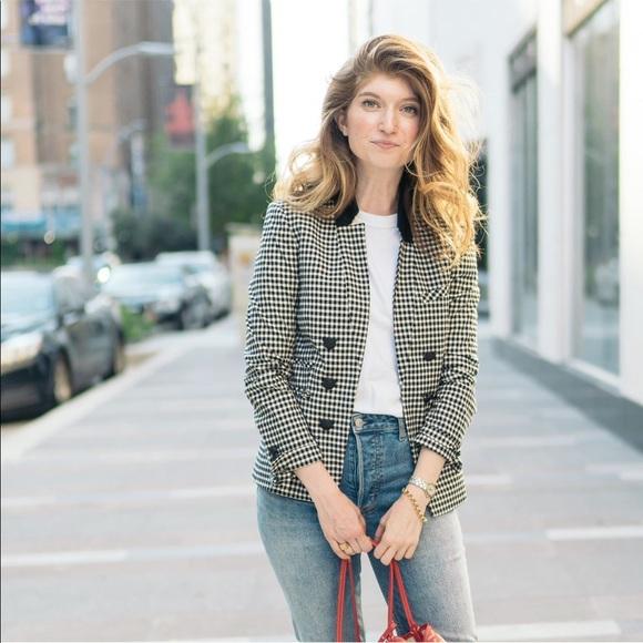 Veronica Beard Jackets & Blazers - VERONICA BEARD check / plaid blazer